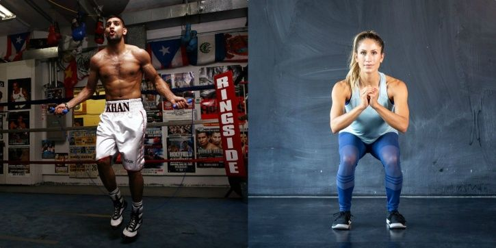 One needs to be fit to do boxing