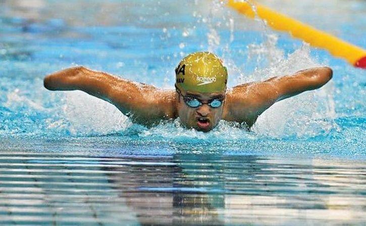 Para Swimmer Suyash Jadhav