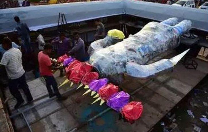 plastic waste ravana