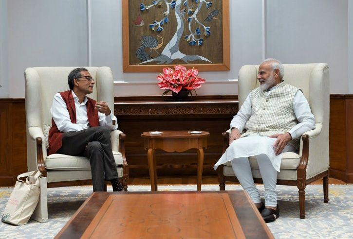 PM Modi Meets Noble Laureate Abhijit Banerjee, Says 'India Is Proud Of His Achievements'