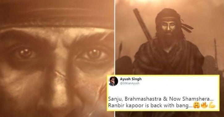 Ranbir Kapoor in Shamshera.