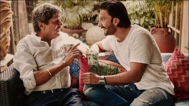 Ranveer Singh and Kapil Dev.