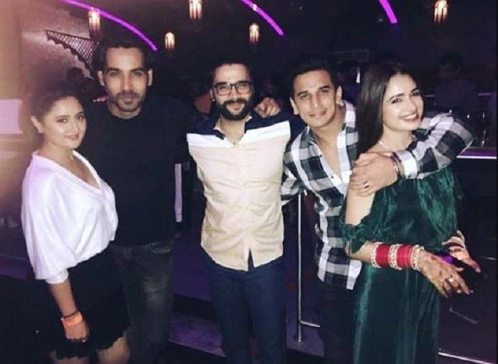 Rashami Desai with boyfriend Arhaan Khan.