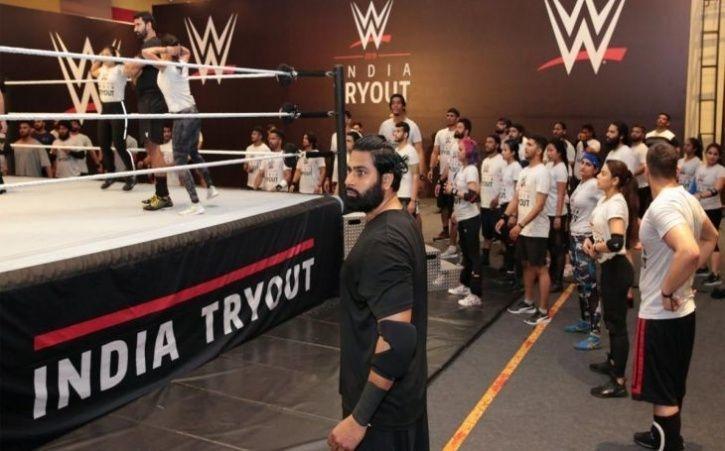 Rinku Singh, WWE, NXT