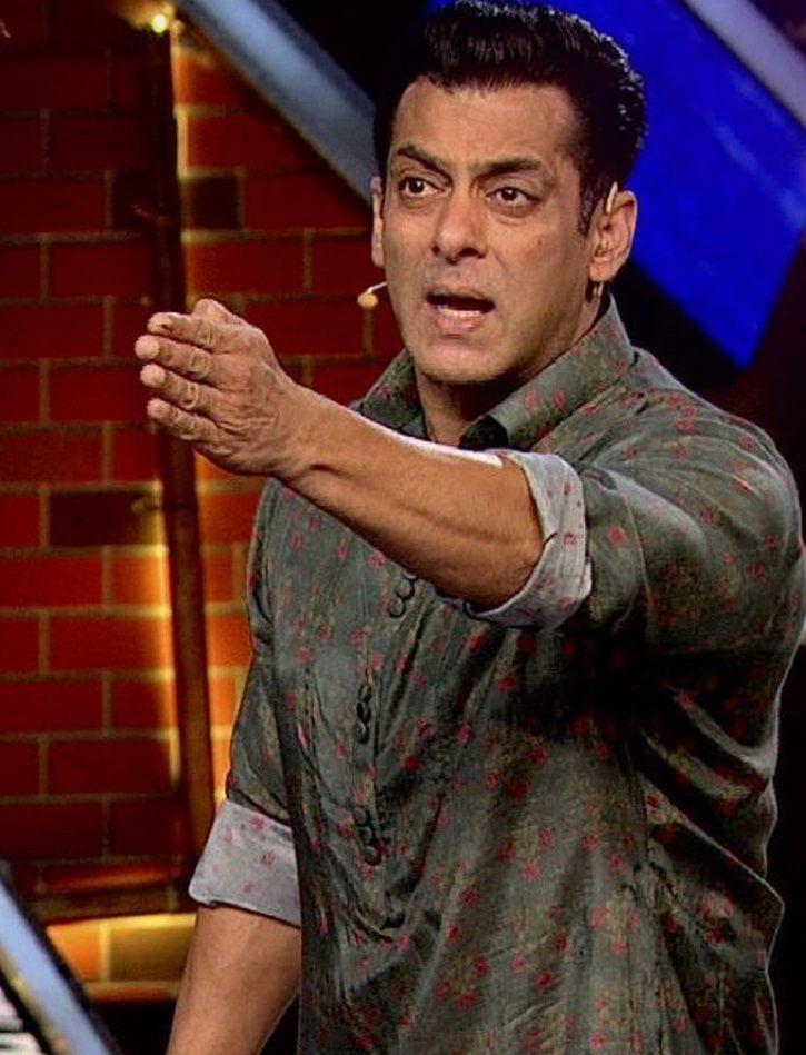 Salman Khan lashes out at Bigg Boss 13 housemates.