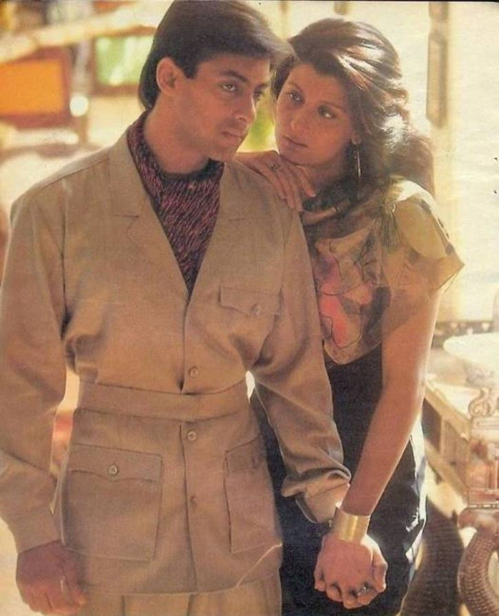 Salman Khan wedding cancelled: a picture of Salman with Sangeeta Bijlani.