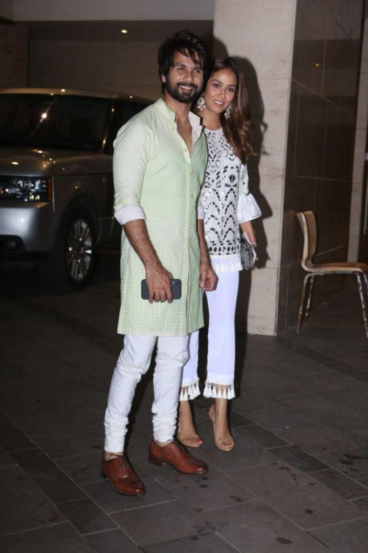 Shahid and Mira Bollywood party