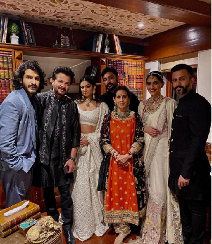 star-studded Diwali bash was also hosted by Anil Kapoor at his Mumbai residence.