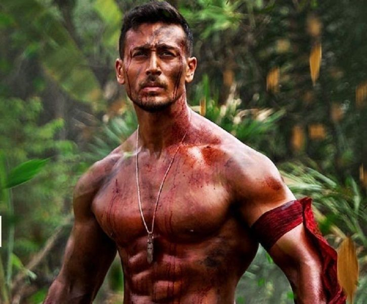Tiger Shroff in Baaghi 2.