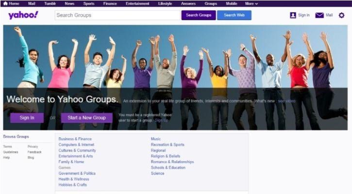 Yahoo Groups
