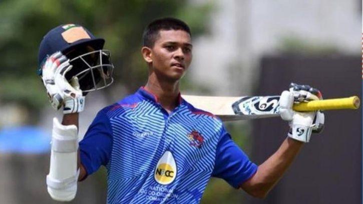 Yashasvi Jaiswal made 203