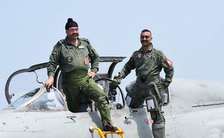 Abhinandan Varthaman Flies Sortie Of MIG-21 With IAF Chief