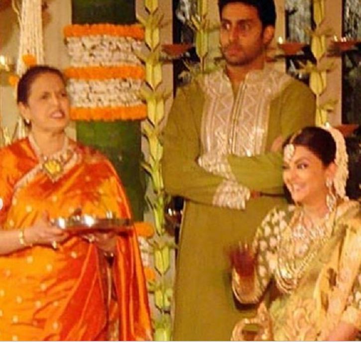 Aishwarya Rai baby shower pics.