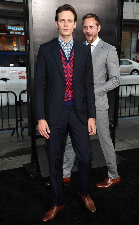 Alexander Skarsgård and Bill Skarsgård are brothers.