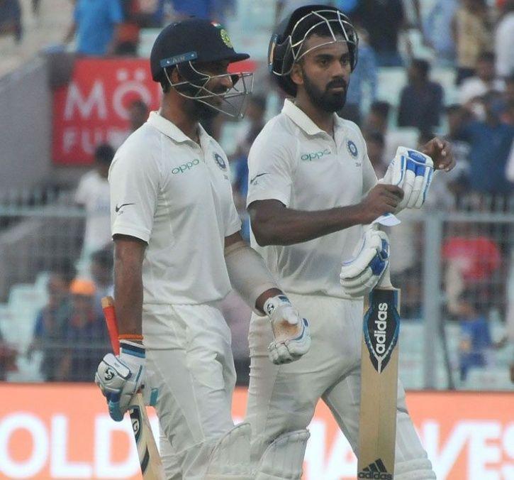 Cheteswar Pujara and kl rahul