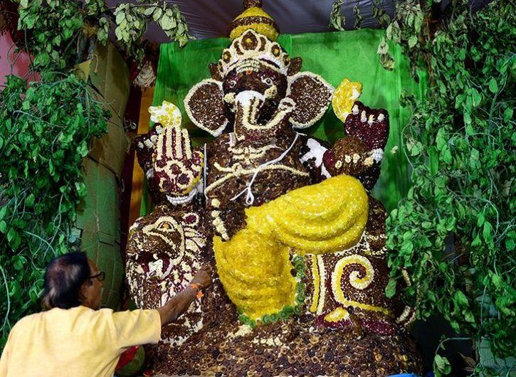 Eco-Friendly Ganesha Idol