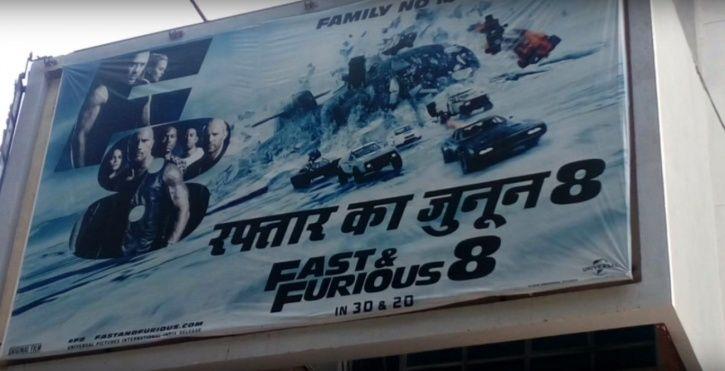 English Movie Titles translated in Hindi: Raftaar Ka Junoon.