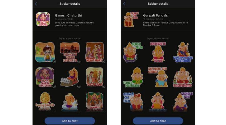 Ganesh chaturthi stickers