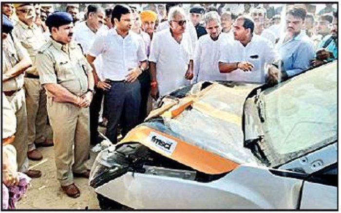Gaurav Gill Accident, Indian Rally Car Accident, Rally Car Collision, Gaurav Gill FIR, Musa Sharif,