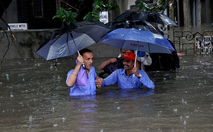 Heavy Rain Returns To Halt Mumbai Again