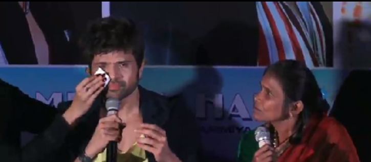 Himesh Reshammiya cried at the song long with Ranu Mondal.