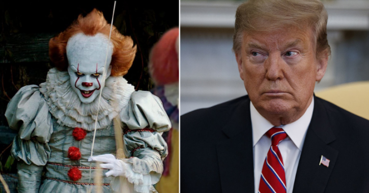 It Director Compares Donald Trump With Pennywise, Says He Does Exactly What A Clown Does