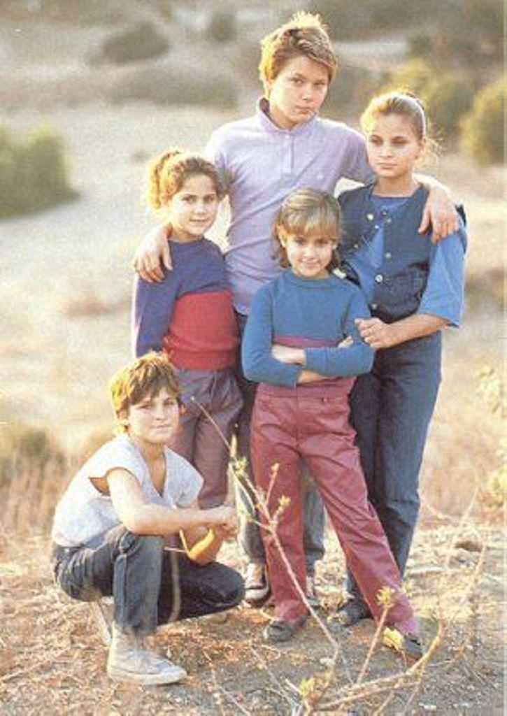 Joaquin Phoenix and his siblings.