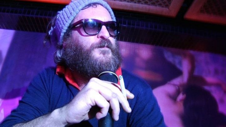 Joaquin Phoenix in beard when he fooled us into believing he wanted to be rapper.