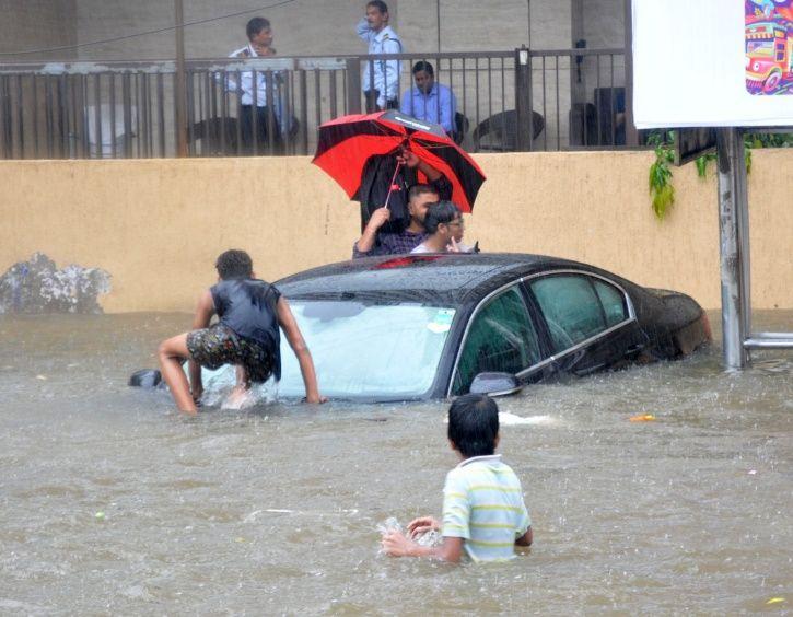 Mumbai rains brought life to standstill.