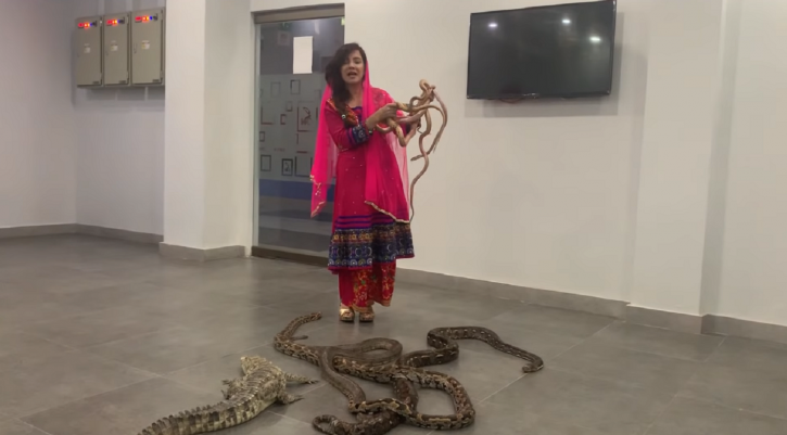 Pakistan Singer Rabi Pirzada wants to launch a snake attack on PM Modi and Indians.