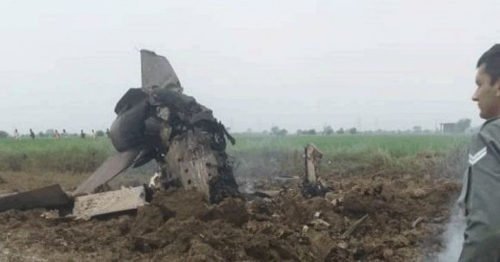 Pilot Instrumental In Planning Balakot Airstrikes Ejected Safely As MIG-21 Goes Down In MP