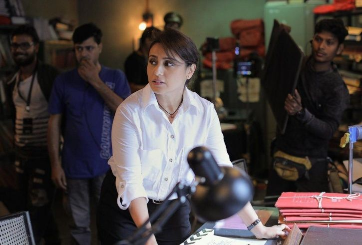 Rani Mukerji as Officer Shivani Shivaji Roy in Mardaani 2.