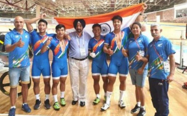 Ronaldo Laitonjam Cycles India To Glory At Track Asia Cup