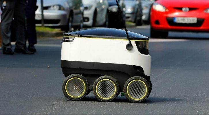 Self-driving robots