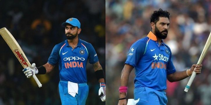 Virat Kohli has won both World Cups