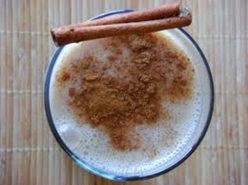 warm milk with cinnamon