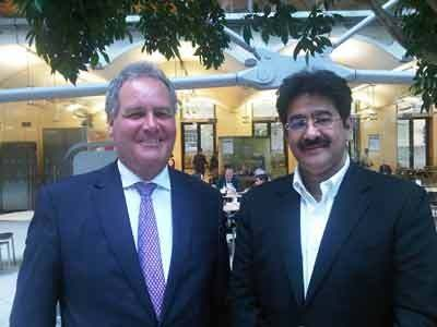 Sandeep Marwah Invited By Bob Blackman At House Of Commons