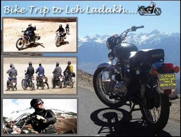 Bike Trip To Leh Ladakh