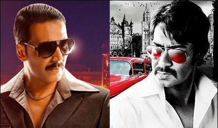 Akshay Kumar Vs Ajay Devgan: Who's Better?