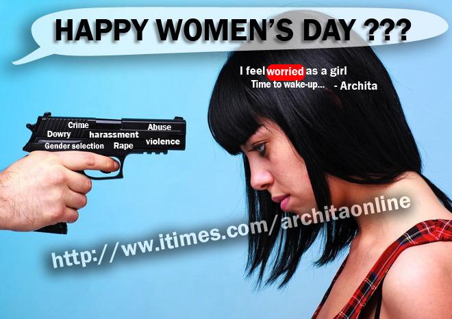 Feeling Shame To Celebrate Women's Day.. U??