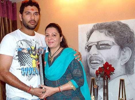 Being A Single Parent Wasn't Easy: Yuvraj's Mother Shabnam