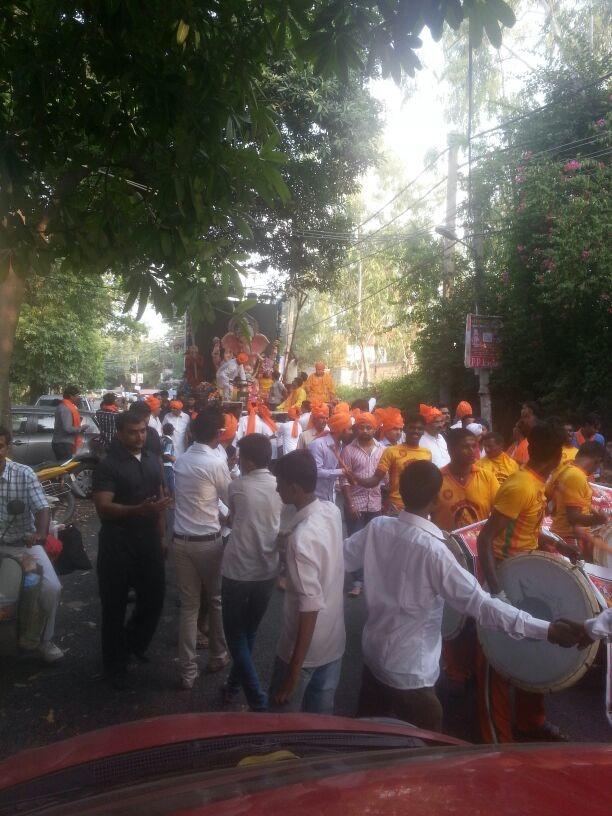 Ganesh Chaturthi Celebrations Have Started Today,Entire Mumbai Is Having Ganesha Pandals.