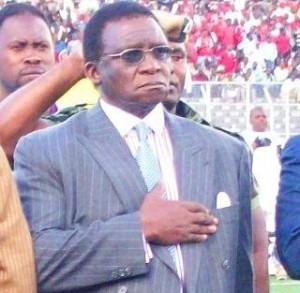 Chief Justice Richard Banda Led The Cheers For Malawi Against Chad