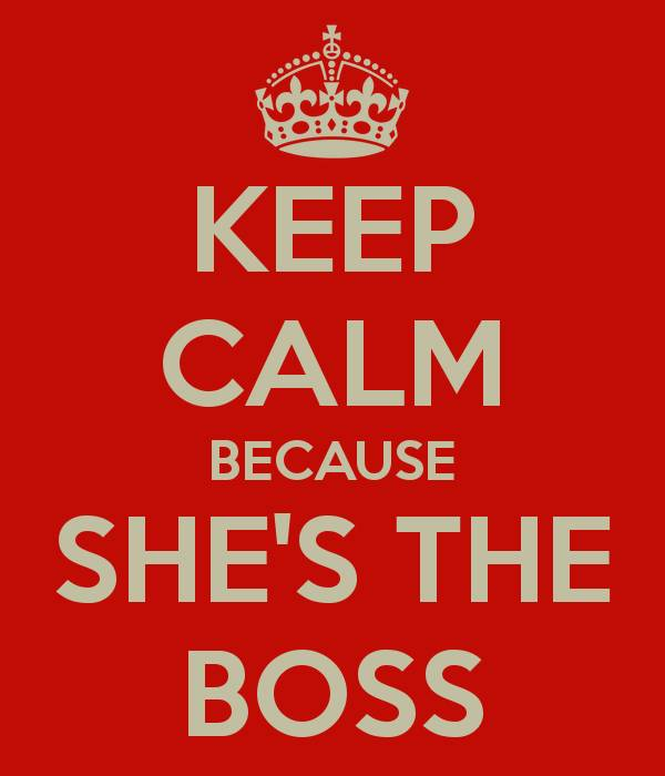 The Woman Was Acting Bossy,Few Of Her Detractors Misused She Boss Labels To Suit Them.