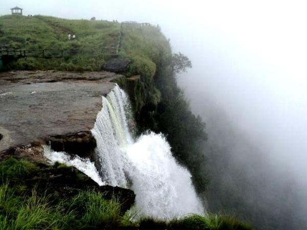 Highest Waterfalls-Langshiang Falls, Meghalaya
