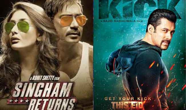 Can 'Singham-2' Break The Box-office Collection Of 'Kick'?