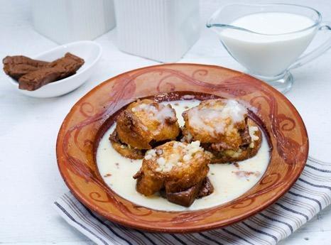 Recipe: 5 Star Malpua With Ice Cream