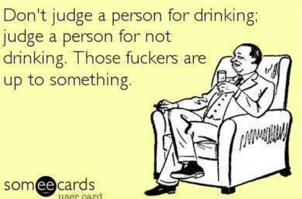 15 Stupid Things People Say To Non-drinkers!