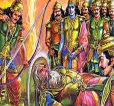 Bhishma Pitamah Teachings From His Death Bed Of Arrows