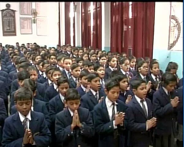 #IndiawithPakistan: Children Observe 2 Minutes Of Silence In Schools